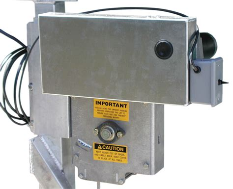 Shoremaster Electric Boat Lift Motor by Boat Accessories