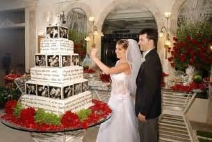 vidã o mariage uma vida perfeita bolo de casamento