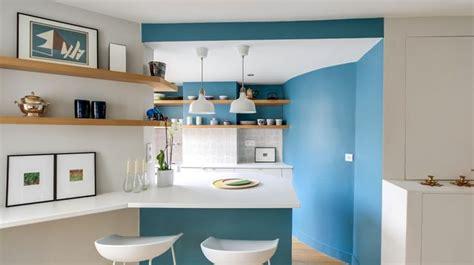 id馥 peinture cuisine ouverte peinture salon cuisine ouverte maison design bahbe com
