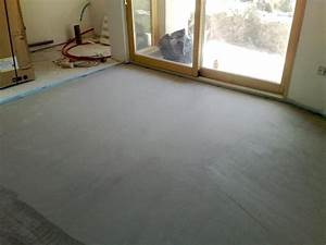 Temps De Sechage Chape : chape liquide ciment sechage ~ Melissatoandfro.com Idées de Décoration