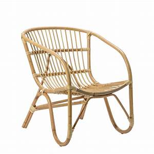 Bloomingville Natural Rattan Arm Chair A89100015