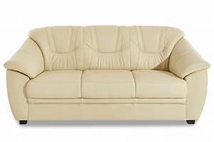 Sofa Mit Schlaffunktion Leder : leder schlafsofa savona mit schlaffunktion creme mit federkern sofa couch ebay ~ Bigdaddyawards.com Haus und Dekorationen