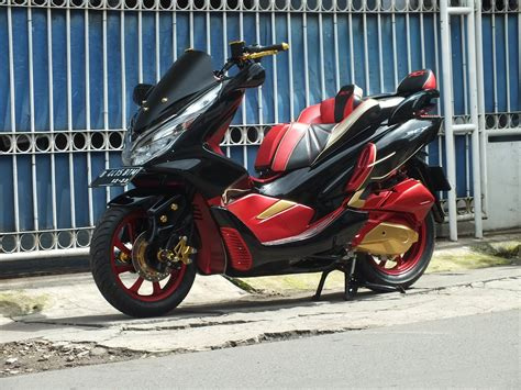 Pcx 2018 Modif by Doctor Matic Klinik Spesialis Motor Matic Honda Pcx New