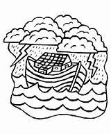 Coloring Noah Ark Bible Flood Sheets Noahs Clipart Activity Crafts Clip Popular Coloringhome Library sketch template