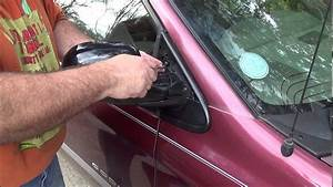 How To  Replace The Side Mirror On A Dodge Caravan