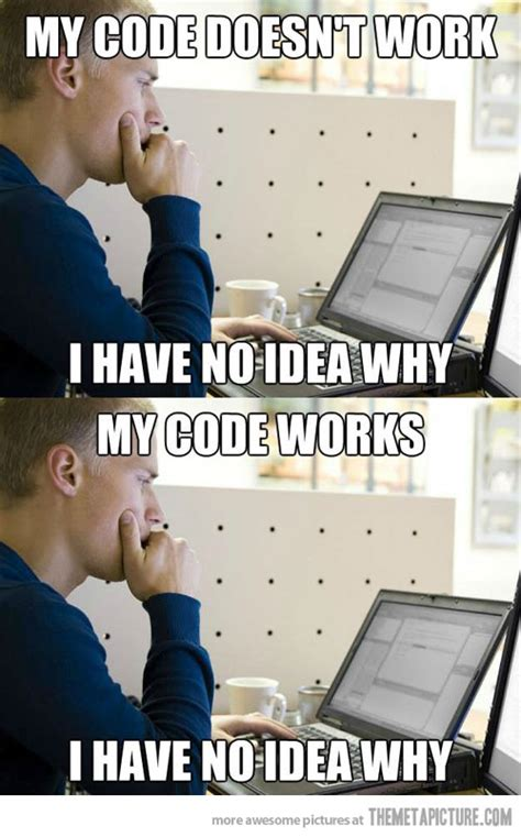Funny Programming Memes - the essence of programming the meta picture