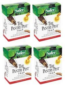 Safer The Pantry Pest Trap Safer Brand 05140 The Pantry Pest Moth Trap 4 Boxes Of 2