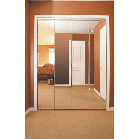 Beveled Mirror Closet Doors by 1000 Ideas About Mirrored Bifold Closet Doors On
