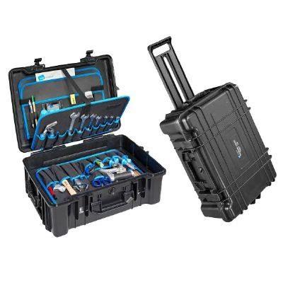 heavy duty outdoor jumbo style wheeled tool case