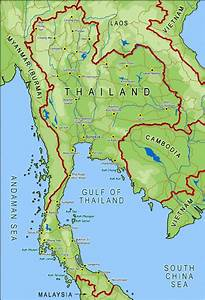 Thailand Map Asia Maps Map Pictures