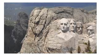 Mount Rushmore  1745m  is a mountain sacred to the Sioux called Six      Rushmore