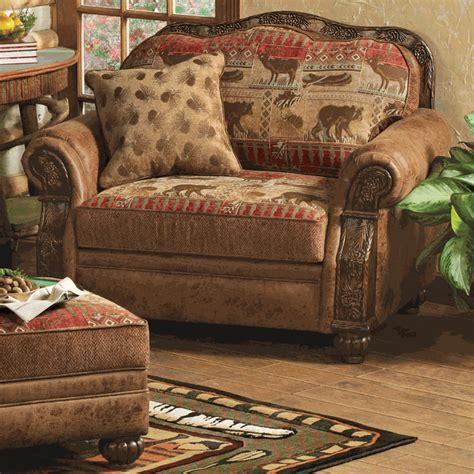 brown leather chair and a half design ideas chair and a