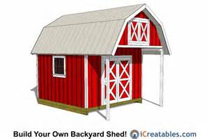 12x16 gambrel shed plans goehs