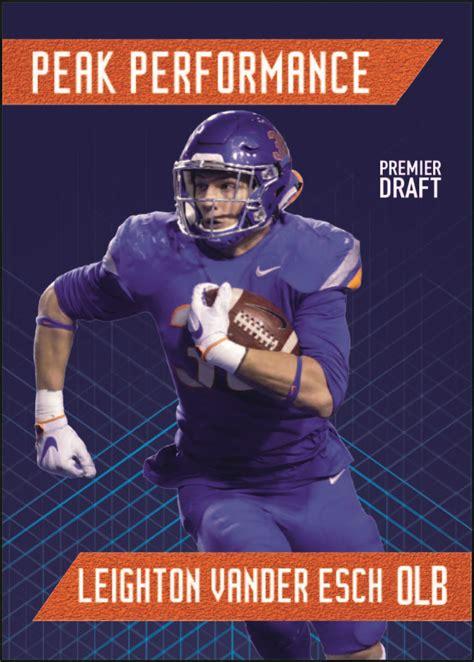 sage hit premier draft football cards  series