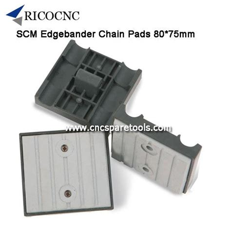xmm scm edgebander track pads cnc chain pads  scm brandt