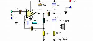audio amplifier circuit page 11 audio circuits nextgr With high quality mono audio amplifier circuit this amplifier is built on