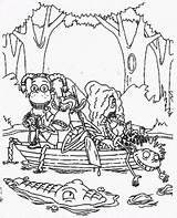 Wild Coloring Pages Thornberry sketch template