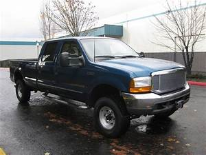 2000 Ford F 7 3l Diesel  4wd  Long Bed
