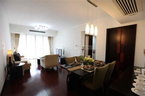 2 bedrooms all property for rent in shanghai in gubei area between 20 000rmb to 25 000rmb per