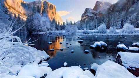 Top Winter Picture by Winter Day At The Mountains Hd Wallpaper