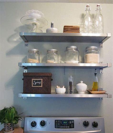 ikea stainless shelving  stove ikea kitchen shelves