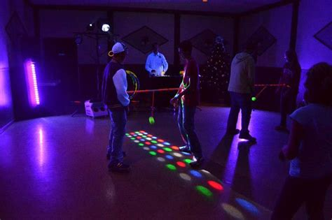glow party games party  teens adults kids