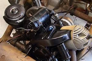 Gas Engine Clean  U0026 Painted
