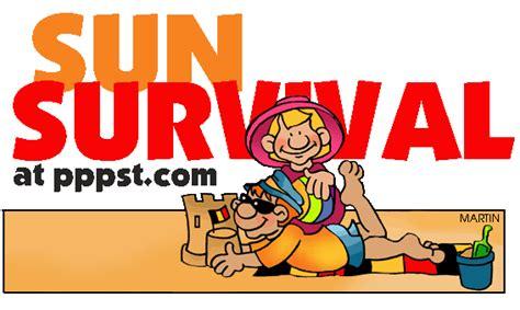 powerpoint   sun survival  kids