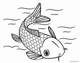 Fish Coloring Pages Koi Japanese Printable Shark Cool2bkids Getcolorings Colorin Adult Tattoo Southwestdanceacademy sketch template