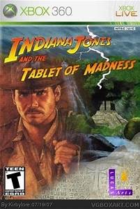 Indiana Jones And The Tablet Of Madness Xbox 360 Box Art