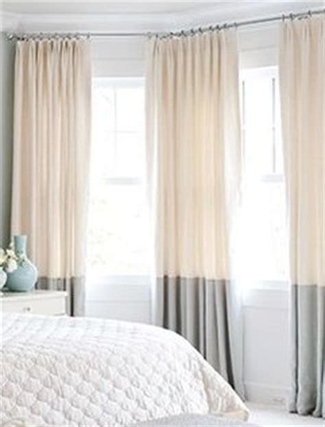 two tone curtains master bedroom colors