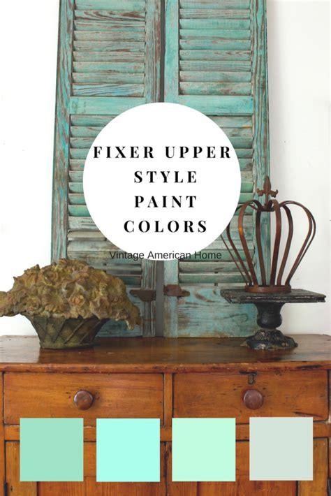 fixer upper farmhouse  paint colors decorate