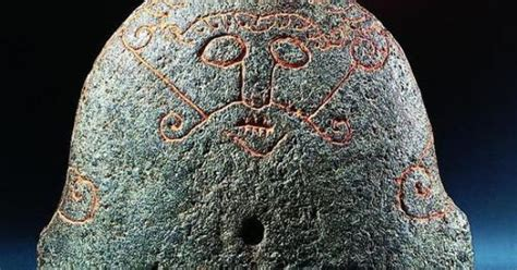 Viking Age. Bellows Protector Of Soapstone Found In