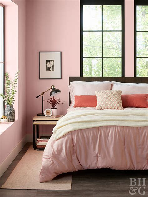 Bedroom One Wall Different Color by Paint Colors For Bedrooms Better Homes Gardens