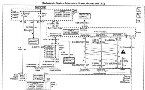 1984 Corvette Radio Wiring Diagram by C5 Stereo Wiring Diagram Corvetteforum Chevrolet