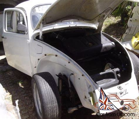 Classic 1976 Vw Beetle Body With All Panels And Bumpers