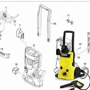 Karcher K4 600 Spare Parts Diagrams 1180603  U2013 Karcher