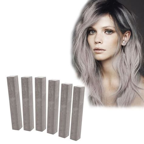 Lilac Best Smokey Lavender Hair Chalk Set Of 6
