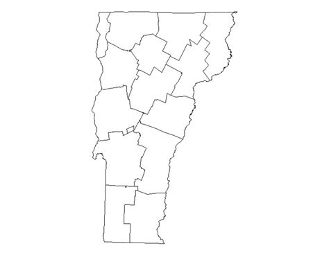 Buy Vermont County Gis Shapefile