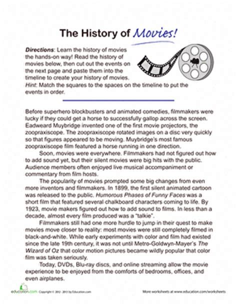the history of chocolate worksheet education