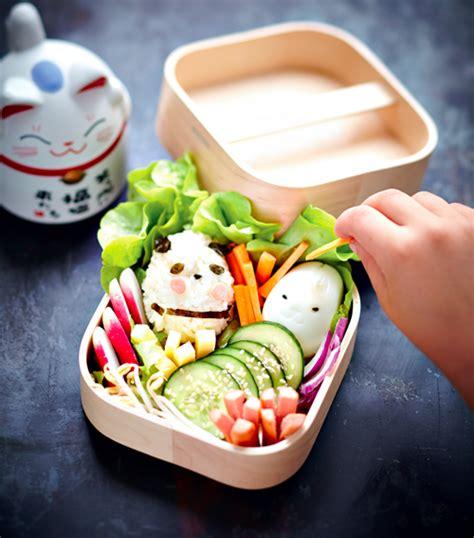truc facile à cuisiner recette enfant bento rigolo pour un repas complet et