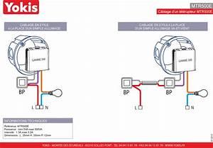 Cablage Bouton Poussoir : modules clignotants 500 w sans neutre yokis ~ Nature-et-papiers.com Idées de Décoration