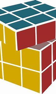 OnlineLabels Clip Art - Rubiks Scrambled
