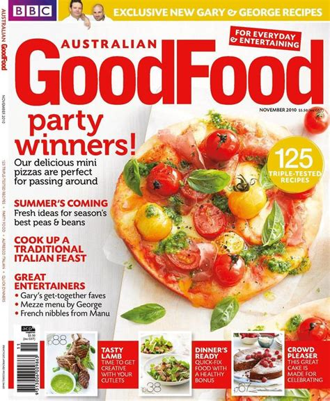 cuisine magazine dig in to the issue of australian goodfood magazine