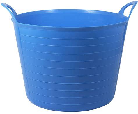 plastic fence active 31 45 l blue flexi tub departments diy at b q