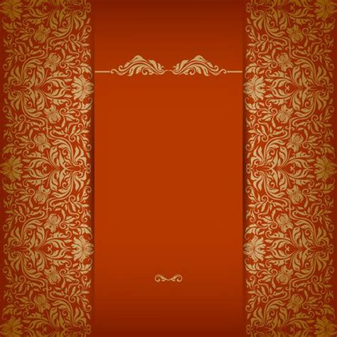 vintage luxury floral background art wedding invitation