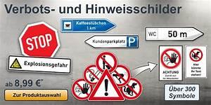 Warnschilder Selbst Gestalten : hinweis und verbotsschilder gestalten und drucken ~ Orissabook.com Haus und Dekorationen