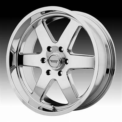 Patrol Wheels Racing American Chrome Rims Custom
