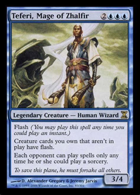 teferi temporal archmage commander 2014 visual spoiler