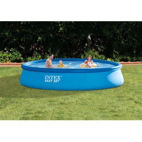 premium above ground swimming pool easy set up kit w filter 33 quot ebay